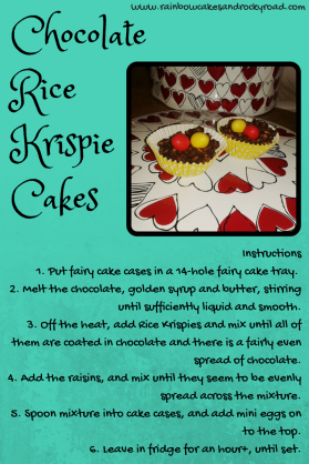 Chocolate Rice Krispie Cakes (1)